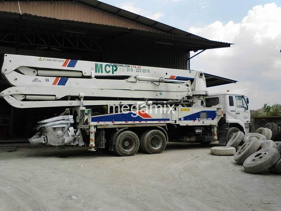 Concrete Pumping | Megamix Sdn  Bhd